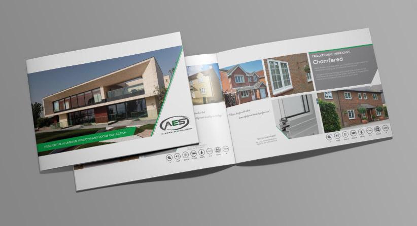 A4 Landscape Booklet Mockup