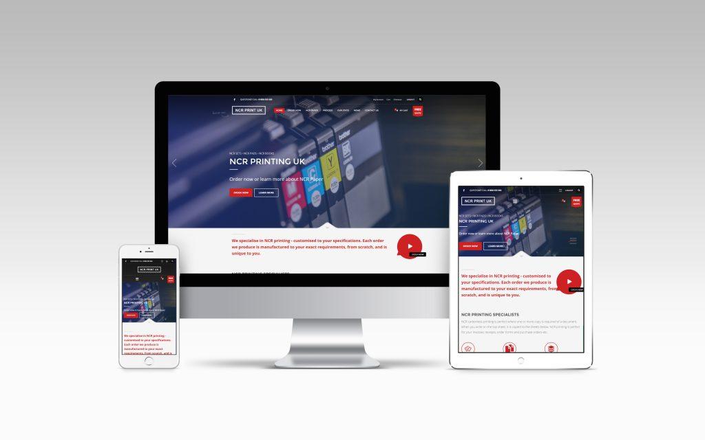 NCR PRINTING UK WEBSITE