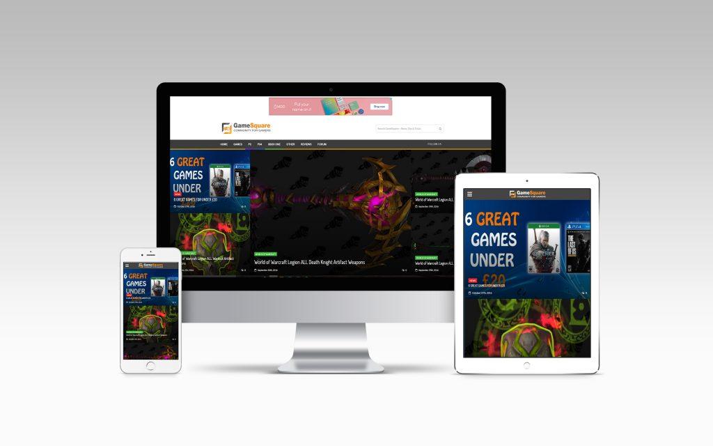 gamesquare-website